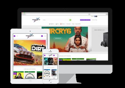 KonzolStar – Webshop oldal /kiskereskedelem/
